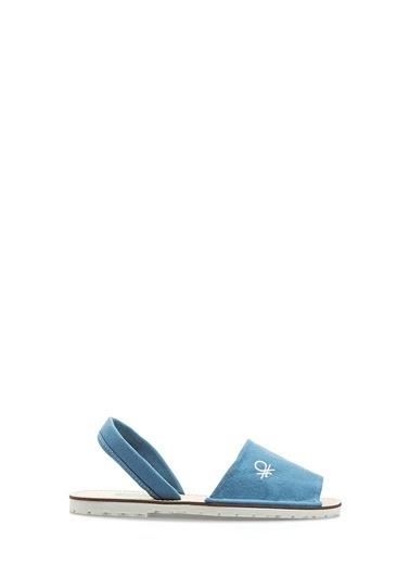 Benetton Bn1009 Kadın Sandalet Mavi